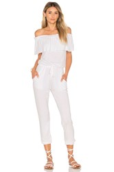 Young Fabulous And Broke Chels Jumpsuit White