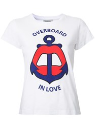 Yazbukey Overboard In Love T Shirt White