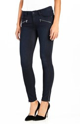 Paige Women's 'Jane' Zip Detail Ultra Skinny Jeans Abrielle No Whiskers
