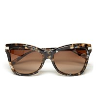 Michael Michael Kors Women's Audrina Iii Sunglasses Brown Mosaic
