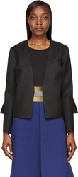Roksanda Charcoal Wool Delmore Jacket