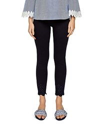 Ted Baker Cottoned On Massiee Embroidered Skinny Jeans In Navy