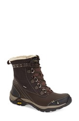 Women's Ahnu 'Twain Harte' Insulated Waterproof Boot Mulch