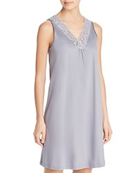 Hanro Moments Tank Gown Lilac Gray
