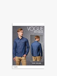 Vogue 'S Shirt Sewing Pattern 1670