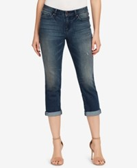 Vintage America Boho Cropped Skinny Jeans Canford Manor