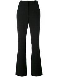 Altuzarra High Waisted Flared Trousers Women Triacetate Polyester 36 Black