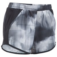 Under Armour Printed Fly By Running Shorts Black