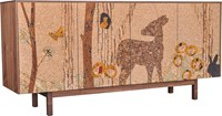 Iannone Design Cork Forest Mosaic Sideboard Long