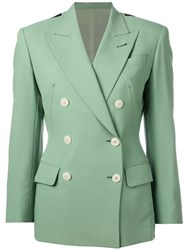 Jean Paul Gaultier Vintage Double Breasted Blazer Green