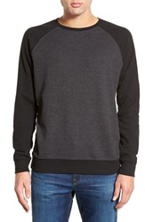 Men's Rvca 'After After' Raglan Long Sleeve Thermal T Shirt