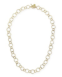 Armenta 18K Yellow Gold Circle Necklace 18
