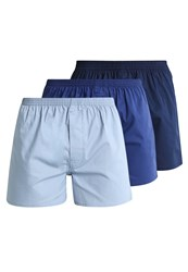 Zalando Essentials 3 Pack Boxer Shorts Blue