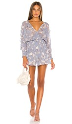 Blue Life X Revolve Virgo Dress In Blue. Periwinkle Floral