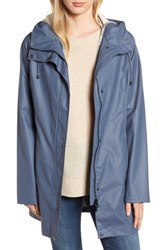 Ilse Jacobsen Illse Hornbaek Raincoat Blue Grayness
