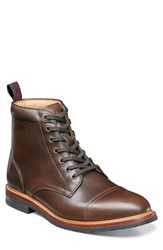 Florsheim Founcry Cap Toe Boot Brown Leather