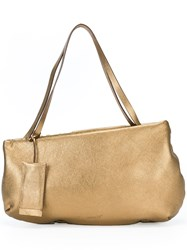 Marsell Asymmetric Medium Shoulder Bag Metallic