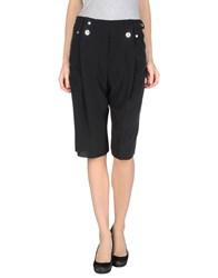 Anthony Vaccarello Trousers 3 4 Length Trousers Women Black