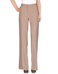 Msgm Trousers Casual Trousers Women Beige