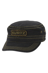 A. Kurtz A Flex Twill Military Cap Black