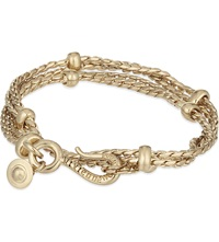 Vivienne Westwood Alonso Wrap Bracelet Antique Gold
