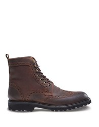 Wolverine Percy Leather Ankle Boots Brown