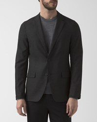 Theory Destructured Anthracite Grey Simon Jacket