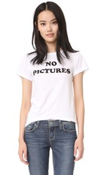 Eleven Paris No Pictures Tee White