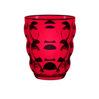 Italesse Bolle Tumbler Set Of 6 Red