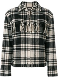 Polo Ralph Lauren Fringe Jacket Black