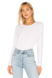 Frank And Eileen Tee Lab Continuous Sleeve Tee White