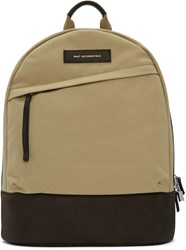 Want Les Essentiels Beige Canvas Kastrup Backpack