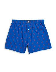 Nautica Cotton Knit Boxers Lobsters