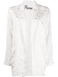 8Pm Jacquard Jacket White