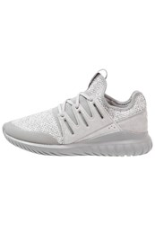Adidas Originals Tubular Radial Trainers Chalk Solid Grey Vintage White