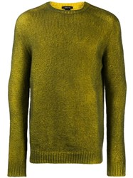 Avant Toi Ribbed Sweatshirt Green