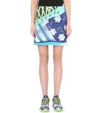 Adidas X Mary Katrantzou Neoprene Digital Print Skirt Multco