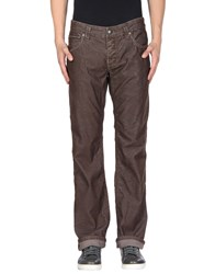 Stitch's Jeans Casual Pants Dark Brown