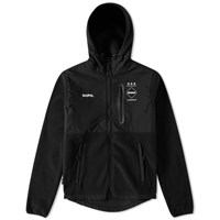 Fc Real Bristol F.C. Polartec Fleece Hybrid Jacket Black