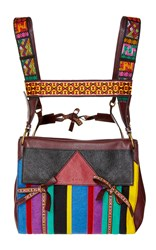 Etro Striped Backpack Multi