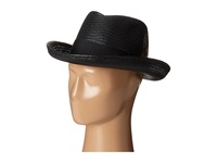 Stacy Adams Toyo Homburg With Grosgrain Ribbon And Bow Black Caps