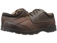 Dockers Gallagher Brown Briar Oiled Tumbled Full Grain Crazy Horse Men's Lace Up Casual Shoes