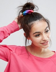 Asos Rainbow Scrunchie Multi