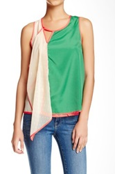 Ryu Colorblock Sleeveless Blouse