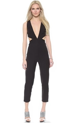 Aq Aq Rhodium Jumpsuit Black