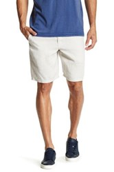 John Varvatos Linen Short Gray