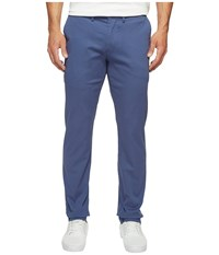 Ben Sherman Slim Stretch Chino Pants Mg10647 Washed Blue Men's Casual Pants Multi