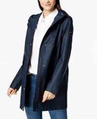 Nautica Hooded Raincoat Navy Seas