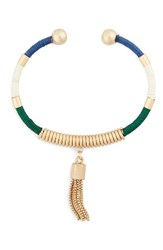 Sole Society Women's Global Tassel Chain Fringe Bracelet