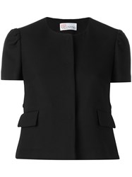 Red Valentino Structured Shirt Black